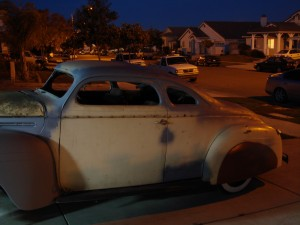 Chopped 1940 Plymouth