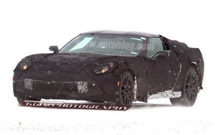 2014 Corvette C7 - spy shots
