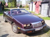 1988 Chrysler LeBaron convertible 2,5