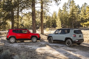 2015 Jeep Renegade Latitude and Trailhawk Models